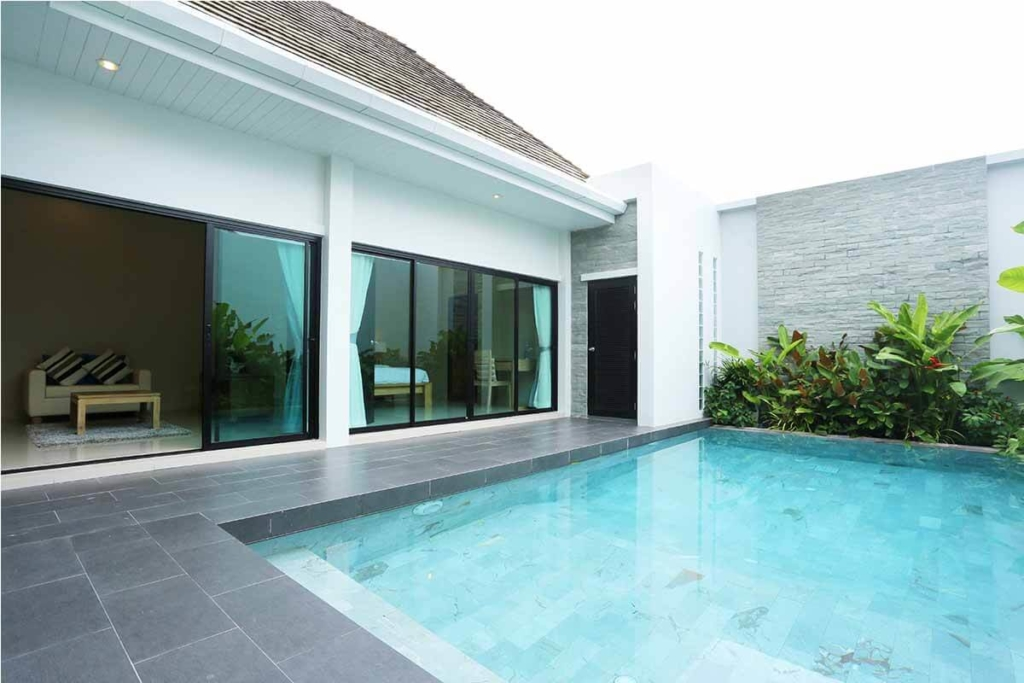Layan Tara Villas 2 Bedroom Pool Villa for sale in Layan Phuket near Laguna Resort
