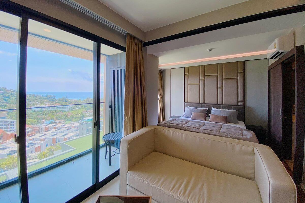 1 Bedroom Sea View Condo for Sale at The Panora near Surin Beach, Phuket