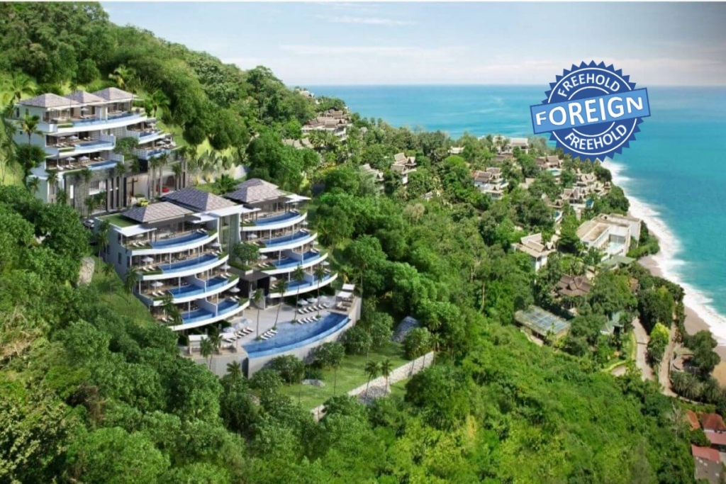 2 Bedroom Foreign Freehold Sea View Condo for Sale near Surin Beach, Phuket