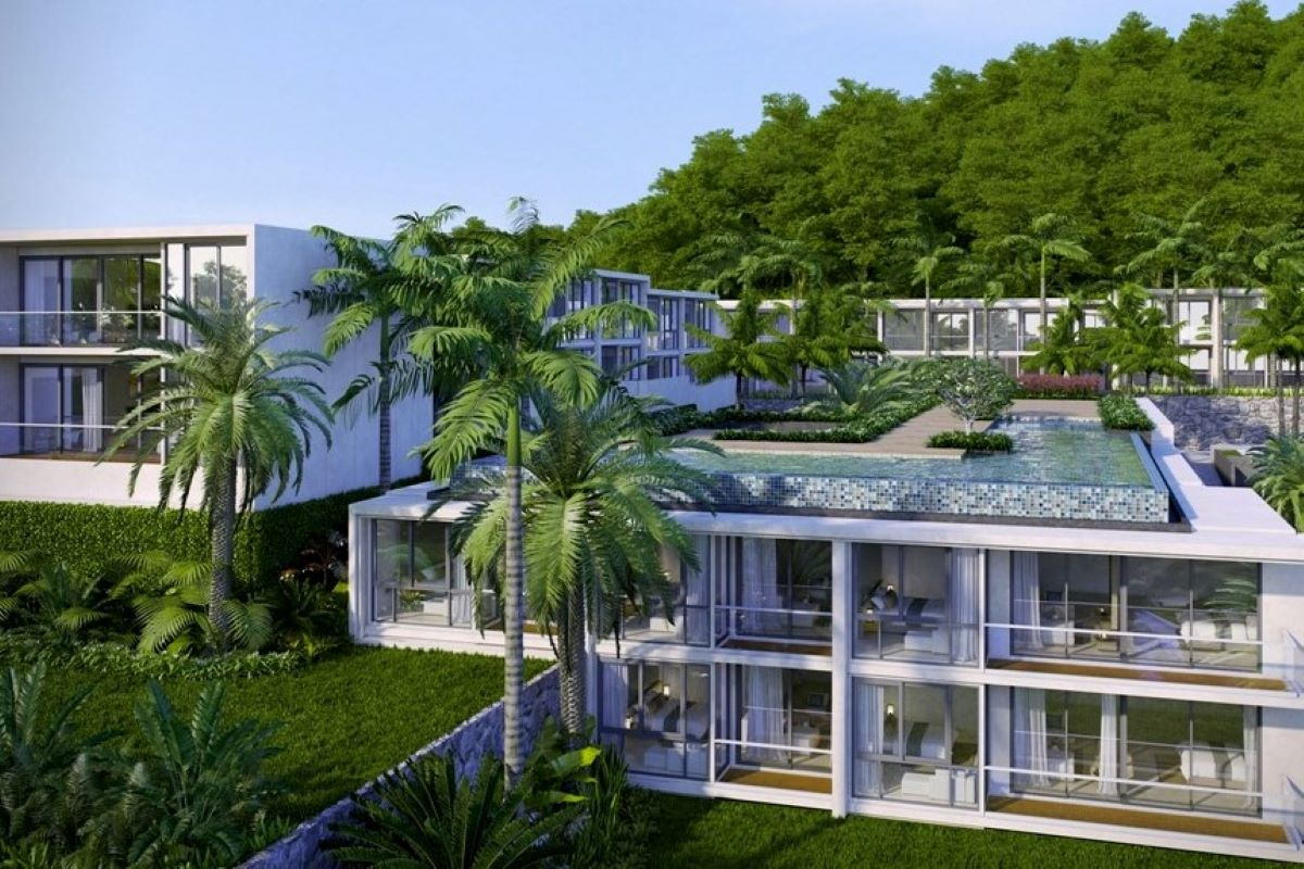 2 Bedroom Sea View Condo near Karon Beach, Phuket