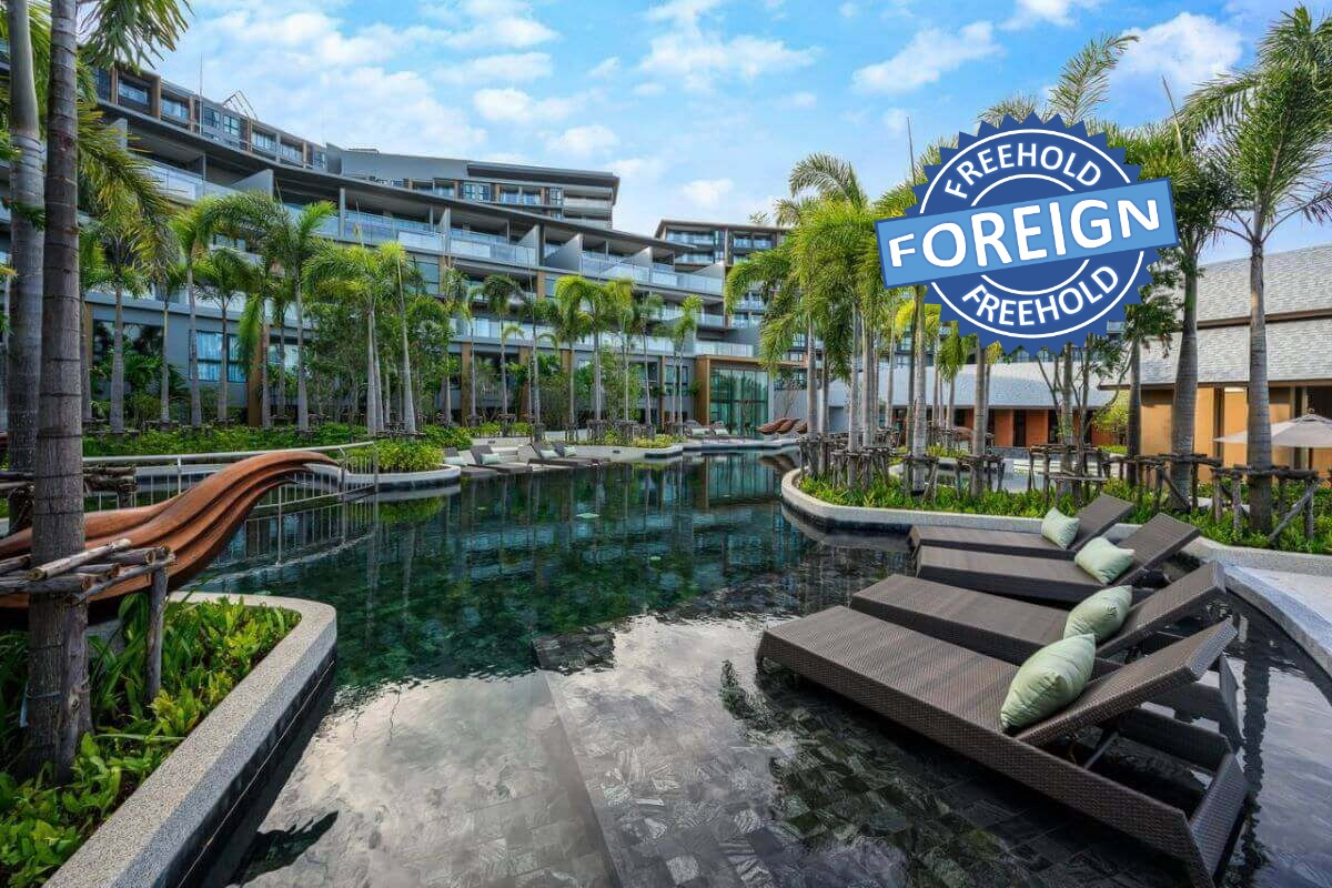 2 Bedroom Sea View Foreign Freehold Condo for Sale at Panora near Surin Beach, Phuket