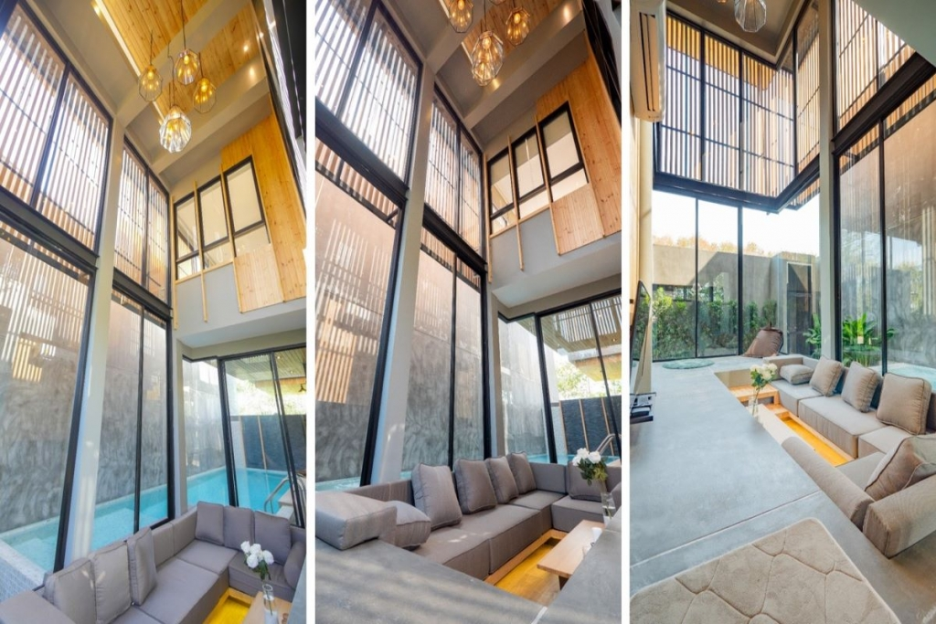 3 Bedroom Loft Style Pool Villa for Sale in Cherng Talay, Phuket