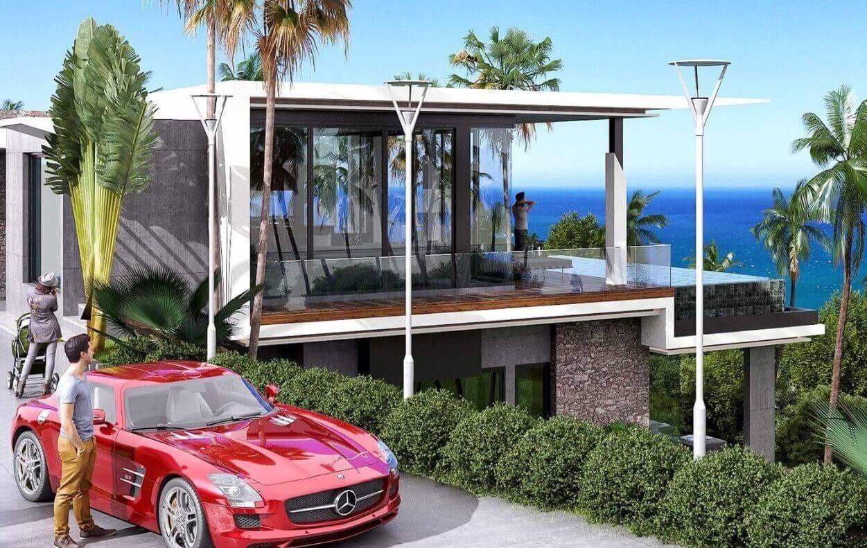 3 Bedroom Sea View Pool Villa for Sale near Karon Beach, Phuket