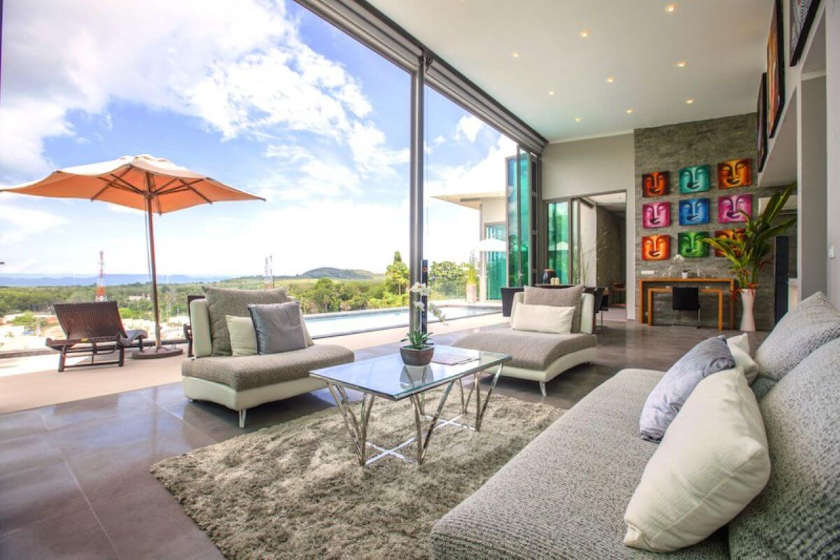 5 Bedroom Villa Yamu Ocean View for Sale by Owner in Yamu Hills, Phuket