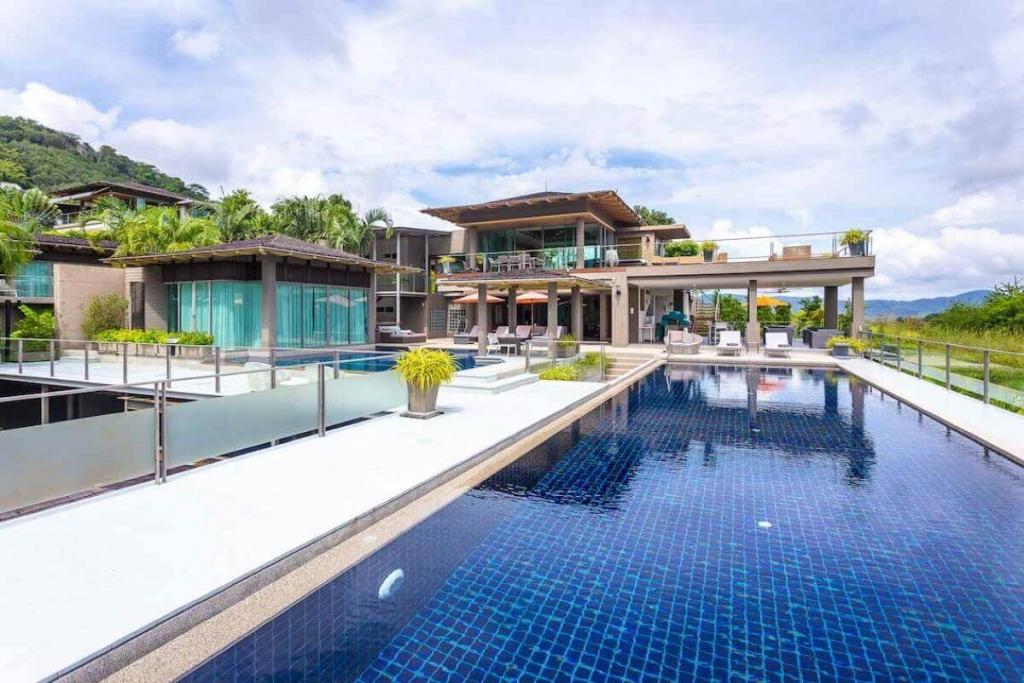 7+1 Bedroom Sea View Luxury Pool Villa in Layan, Phuket