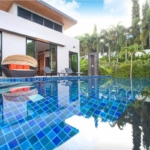Baan Bua Zen 4 Bedroom Pool Villa for Rent in Nai Harn Phuket