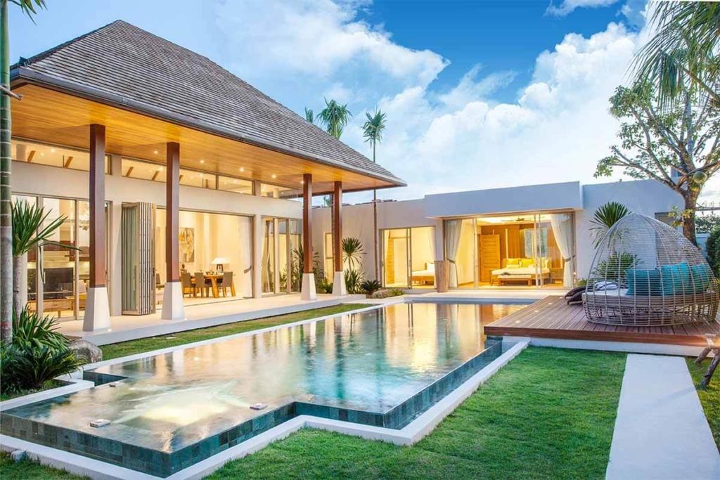 Botanica Villa 3 Bedroom Pool Villa for Sale in Chern Talay Phuket near Laguna