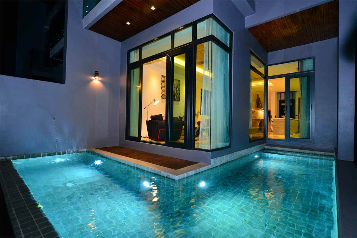 Bukit Pool Villas Sea View Townhouse for Sale in Patong Phuket