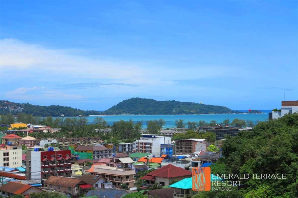 Emerald Terrace Studio Condo for Rent near Patong Beach Phuket