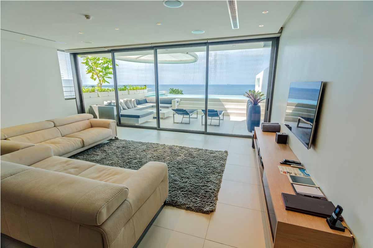 Kata Rocks 3 Bedroom Oceanfront Pool Villa for Sale in Kata Beach Phuket