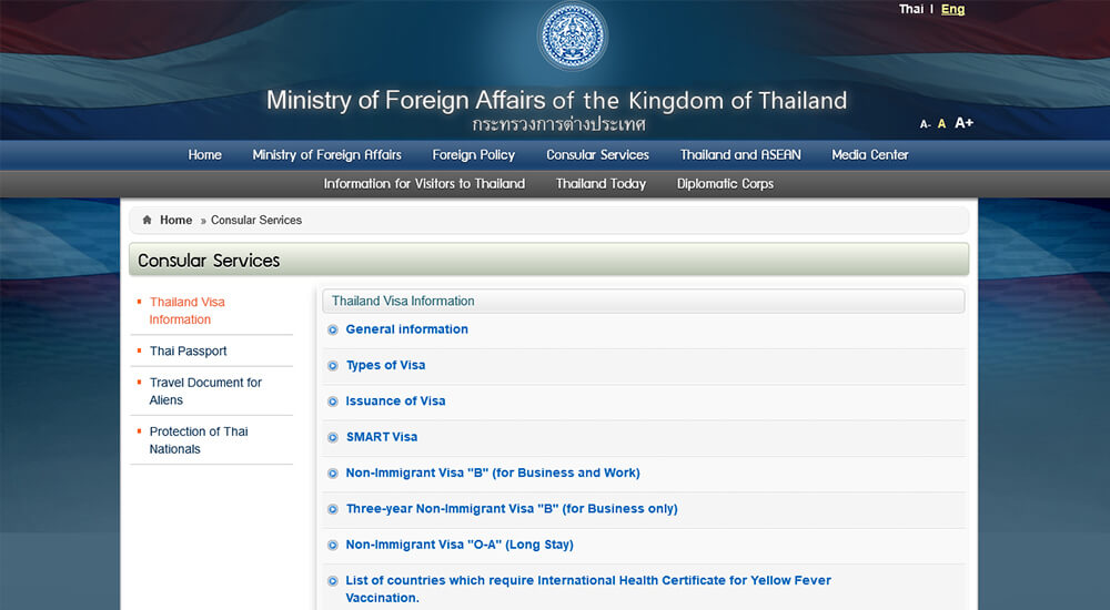 Thailand Ministry of Foreign Affairs