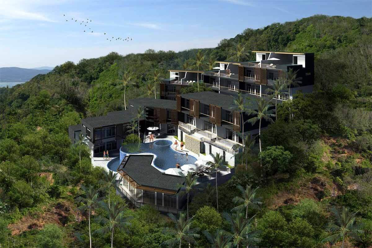 Pandora 3 Bedroom Sea View Apartments for Sale in Rawai Beach Phuket