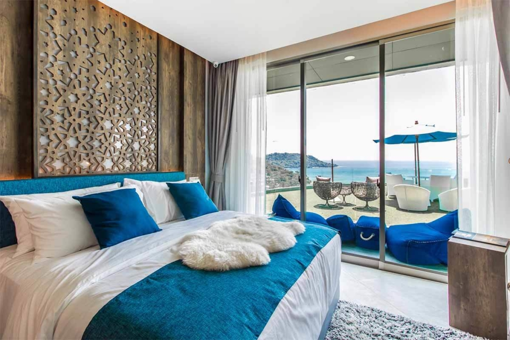 The Peaks Residence 1 Bedroom Sea View Condo for Sale in Kata Noi Phuket