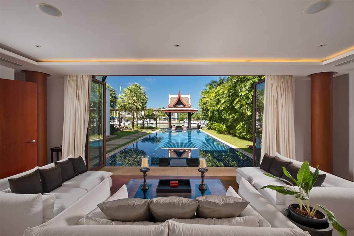 Royal Phuket Marina 5 Bedroom Waterfront Pool Villa for Sale in Kohkaew, Phuket