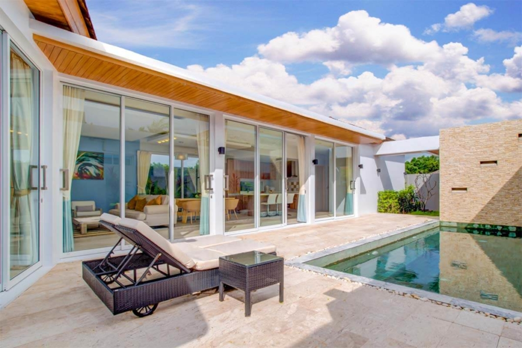 Signature 3 Bedroom Pool Villa for Rent in Nai Harn Phuket