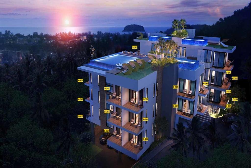 The Splendid 1 Bedroom Sea View Condo for Sale in Kata Phuket