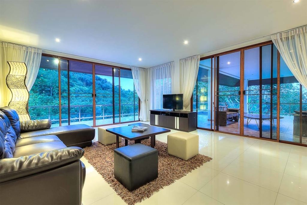 Treasure Park 4 Bedroom Luxury villa for rent in Chalong Phuket
