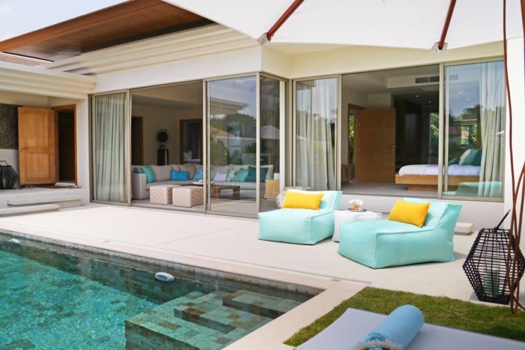 Trichada 2 Bedroom Pool Villas for Sale in Cherng Talay Phuket near Laguna Complex