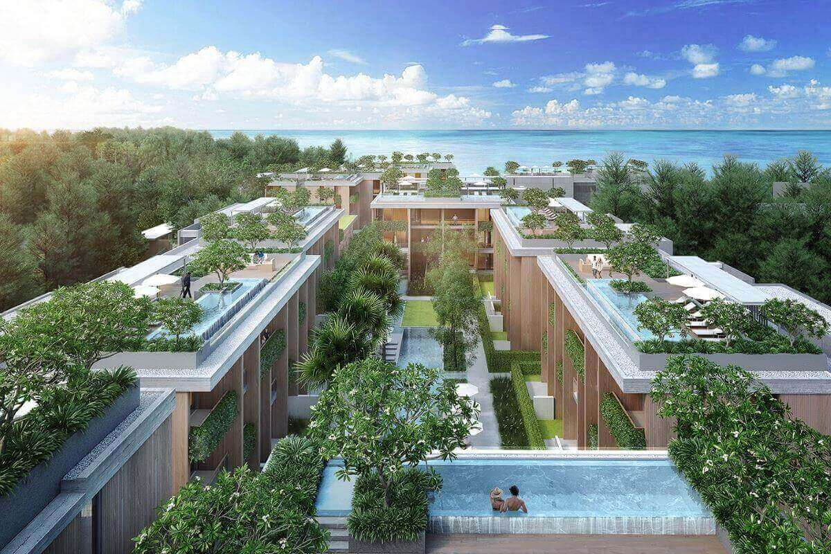 1 Bedroom Beachfront Condo for Sale in Kamala Beach, Phuket