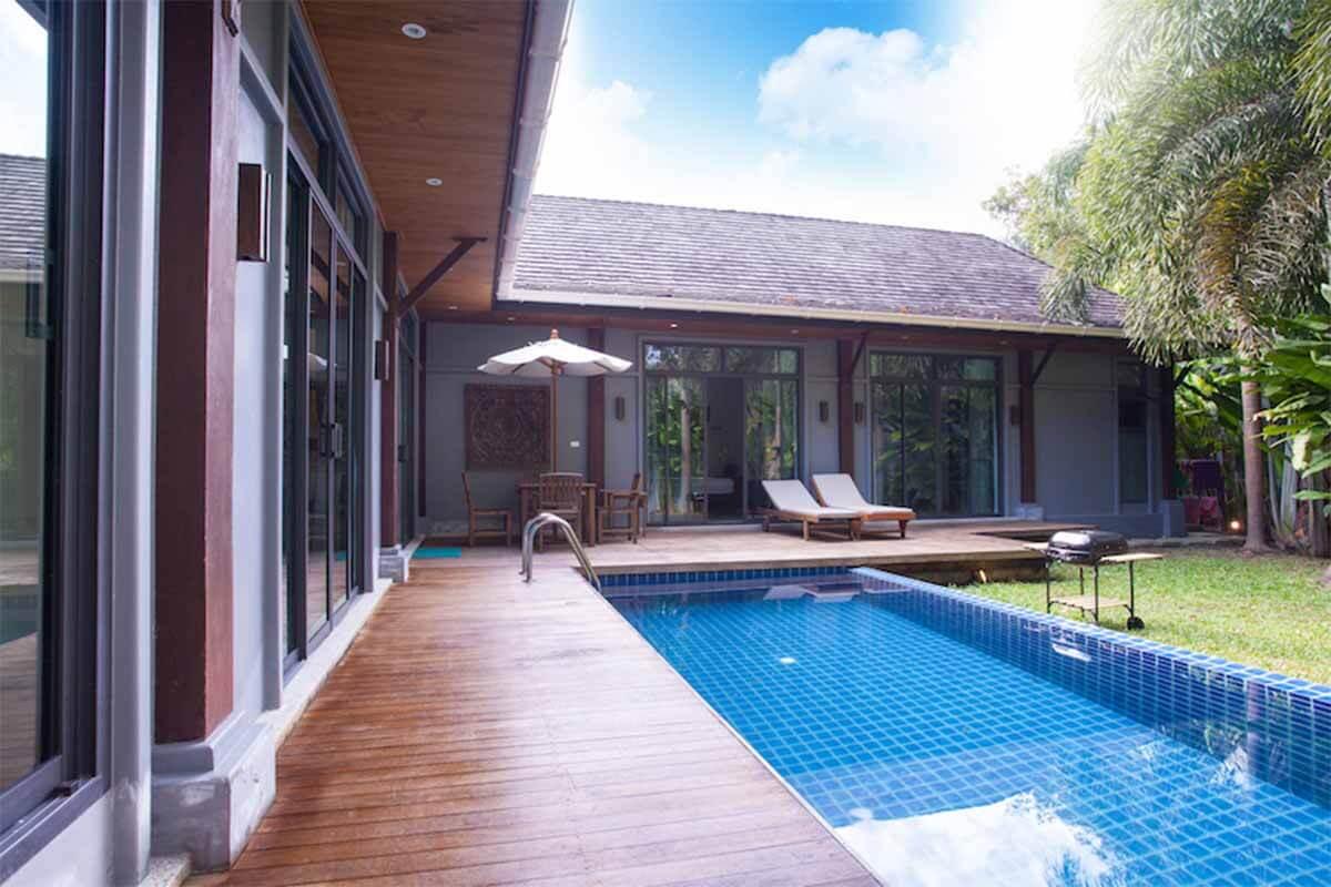 Two Villas 3 Bedroom Pool Villa for Rent in Nai Harn Phuket