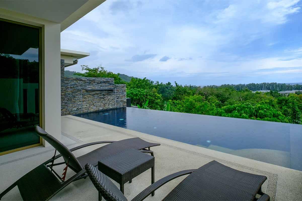Vista del Mar 2 Bedroom Sea View Pool Villa for Sale near Nai Thon Beach Phuket
