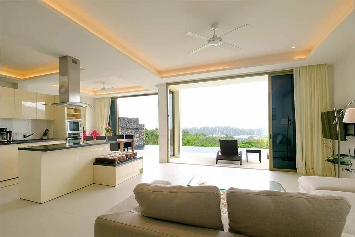 2 Bedroom Sea View Pool Villa for Sale near Nai Thon Beach, Phuket