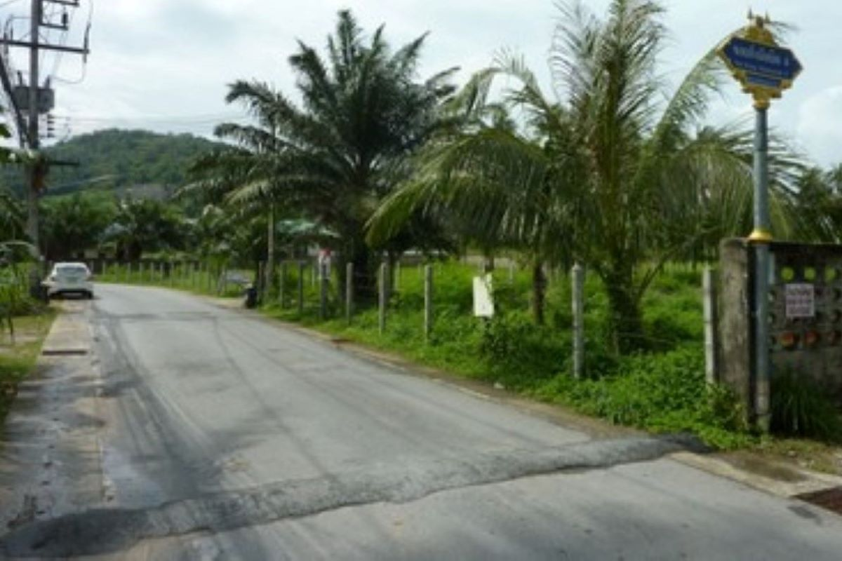 Half Rai (804 sqm) Land for Sale by Owner in Rawai, Phuket