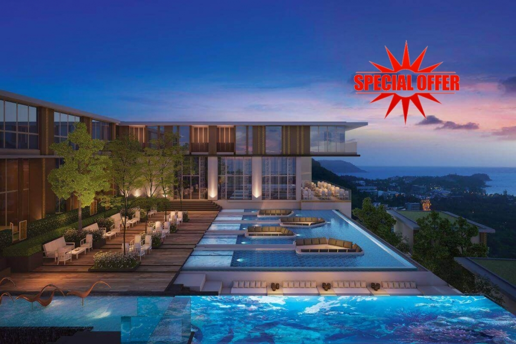 1 Bedroom Sea View Condo for Sale near Karon Beach, Phuket