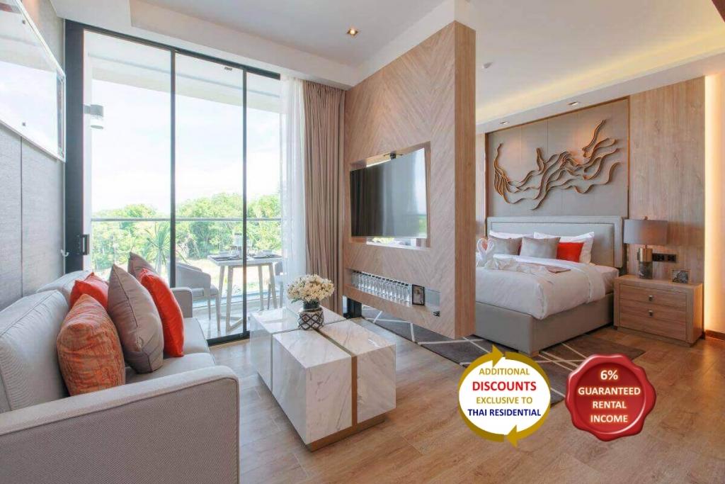 1 Bedroom Resort Condo for Sale near Rawai Beach, Phuket