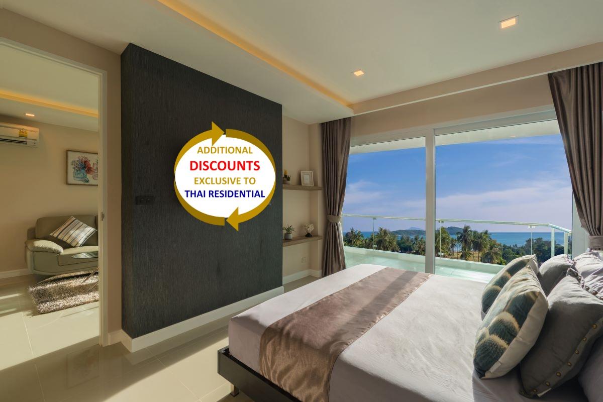 1 Bedroom Sea View Condo for Sale near Nai Harn Beach, Phuket
