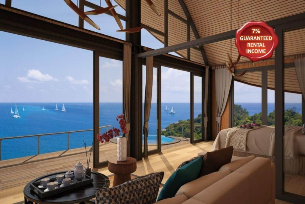 1 Bedroom Sea View Cottage w/ Jacuzzi for Sale in Kamala, Phuket