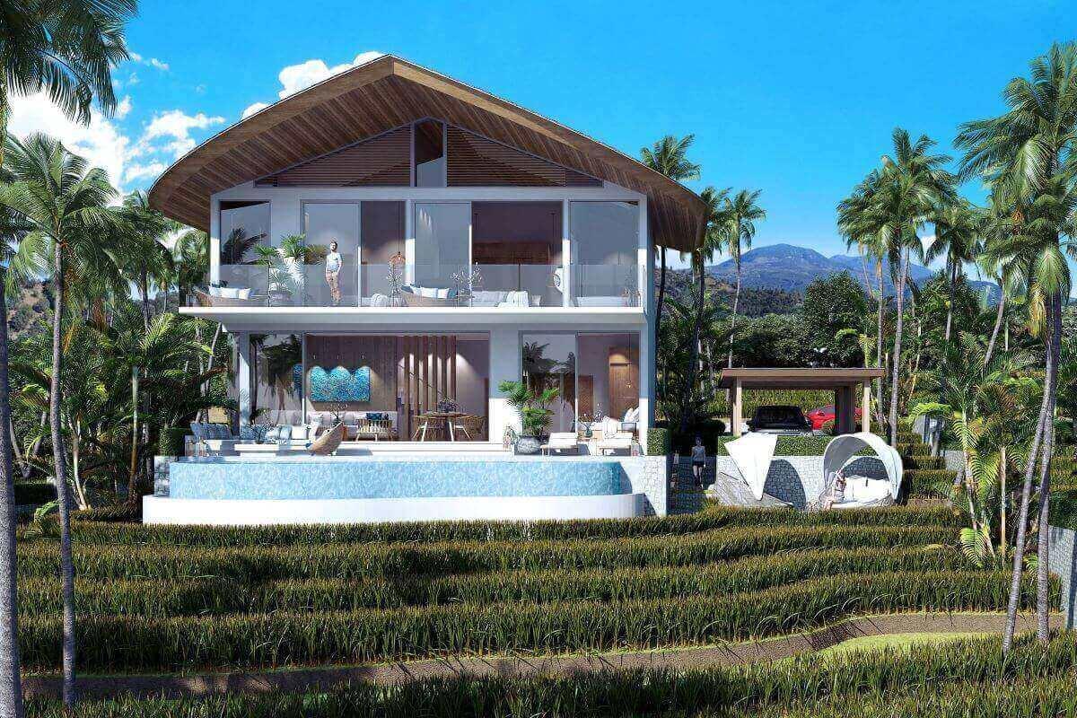 3 Bedroom Pool Villa for Sale near Kamala Beach, Phuket