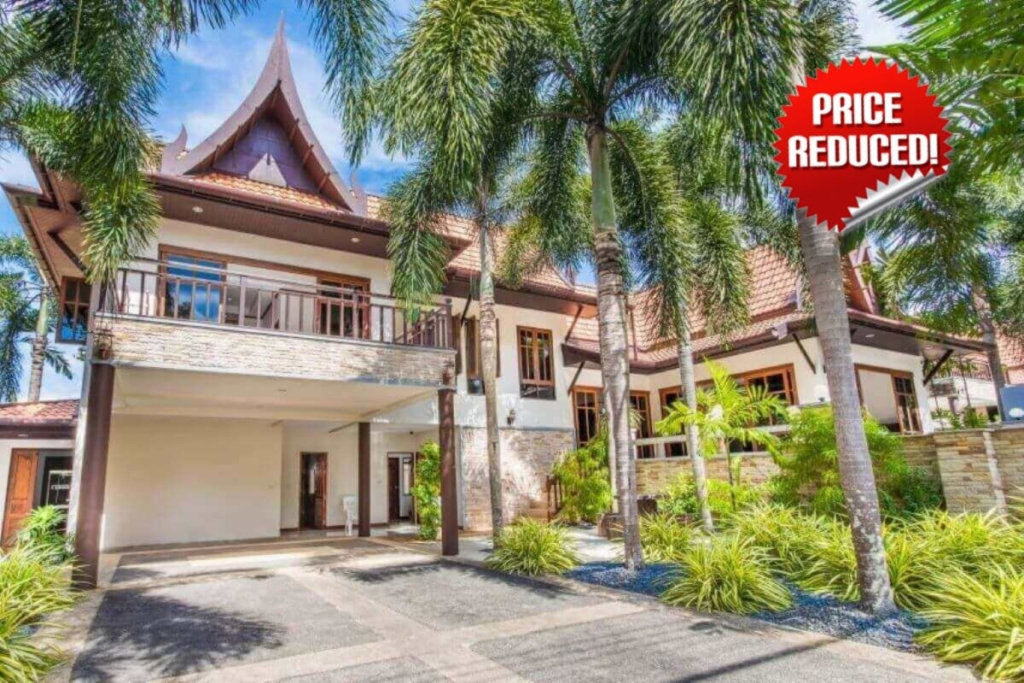 3 Bedroom Mountain View Thai Style House with Pool for Sale in Chalong, Phuket