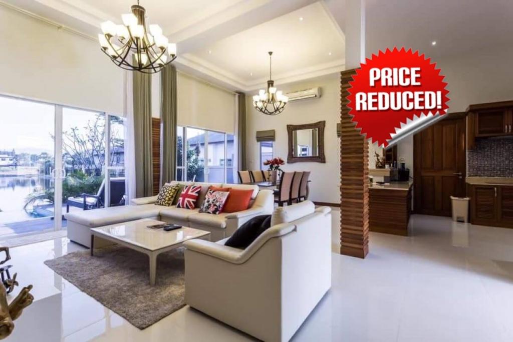 3 Bedroom Lakefront Pool Villa for Sale in Thalang, Phuket