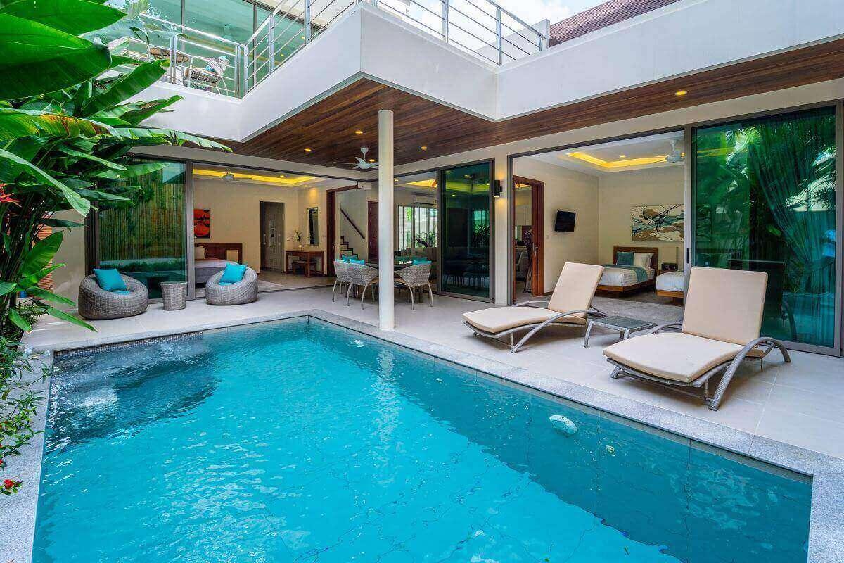 3 Bedroom Pool Villa for Sale near Rawai Seafood Market and Rawai Beach, Phuket