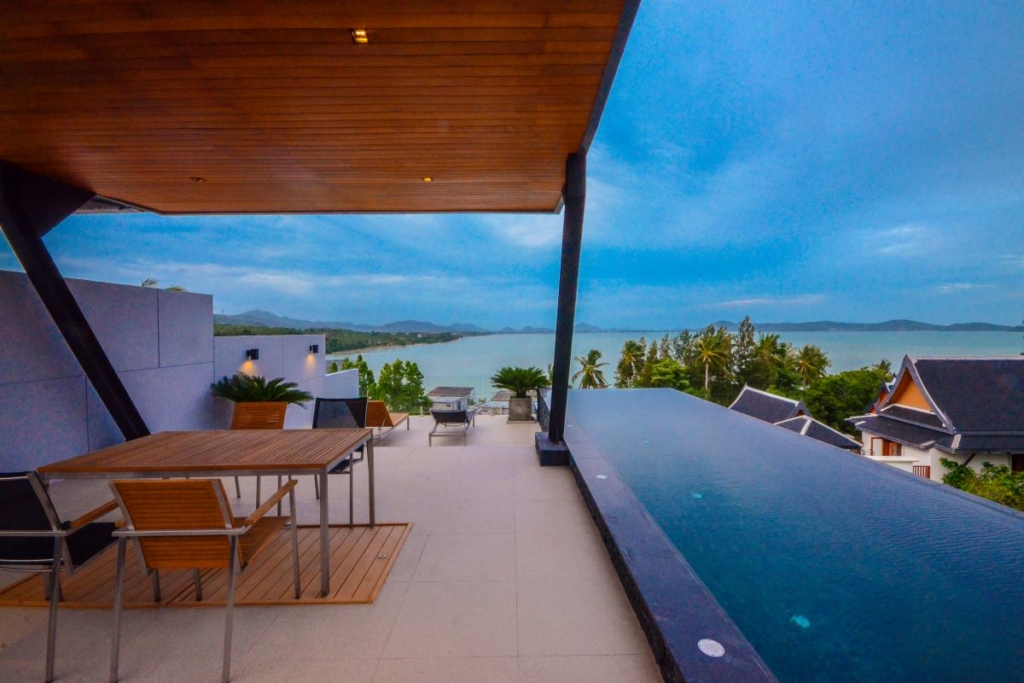 3 Bedroom Sea View Pool Villa in Rawai, Phuket