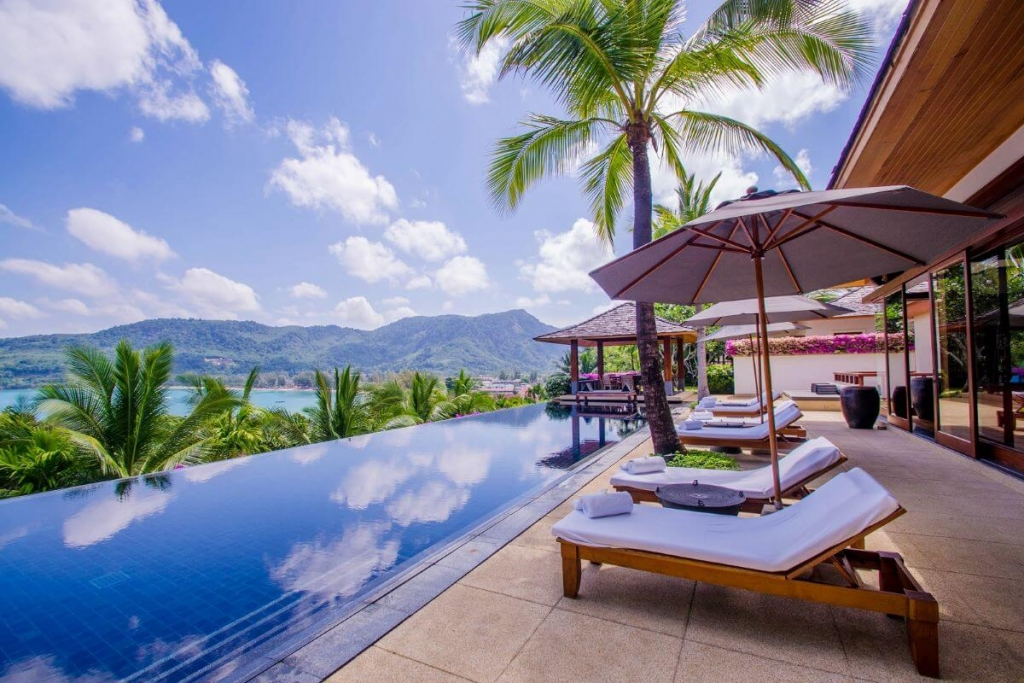 4 Bedroom Sea View Luxury Pool Villa for Sale at Andara near Kamala Beach, Phuket
