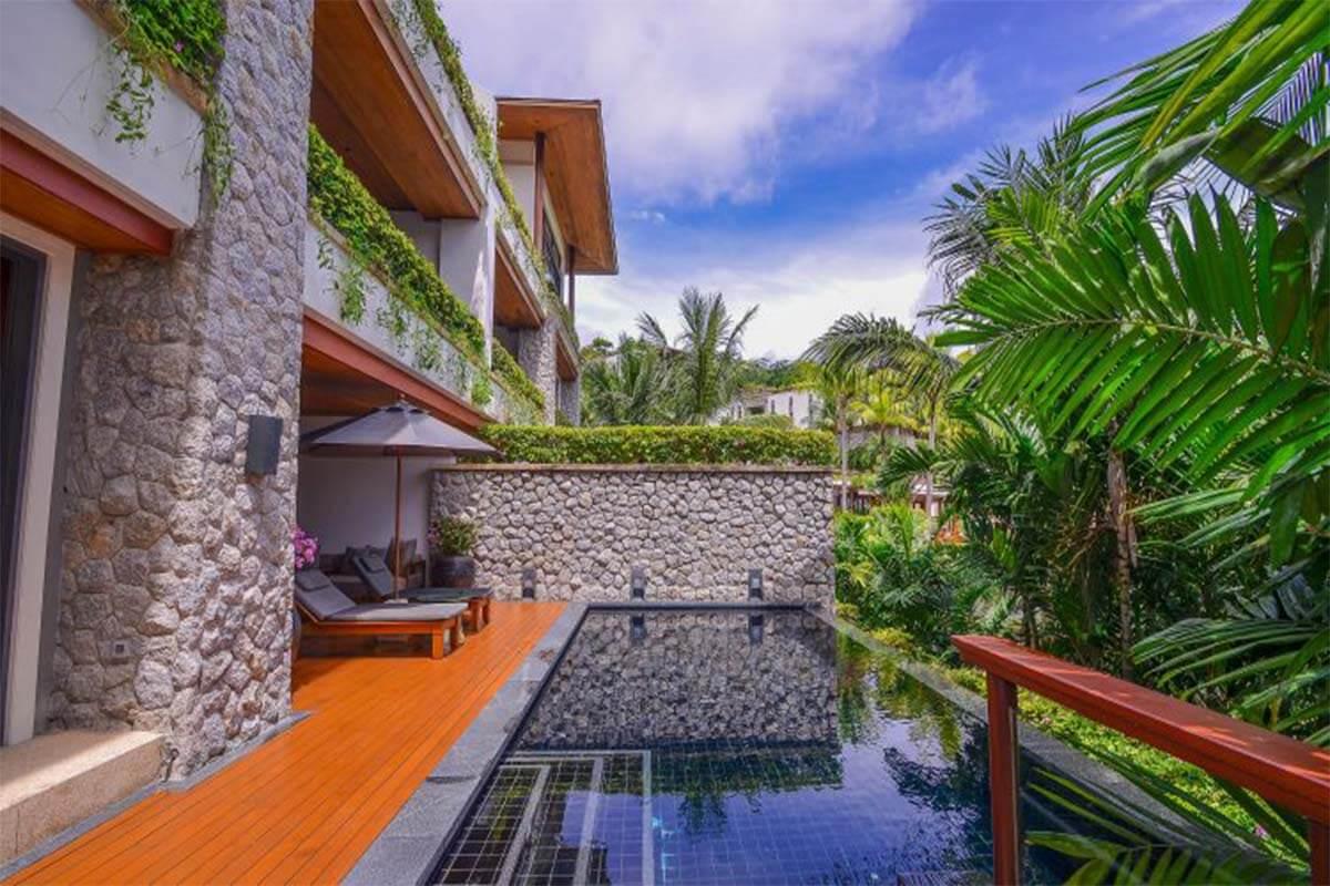 3 Bedroom Luxury Apartment with Private Pool Pool for Sale at Andara near Kamala Beach, Phuket