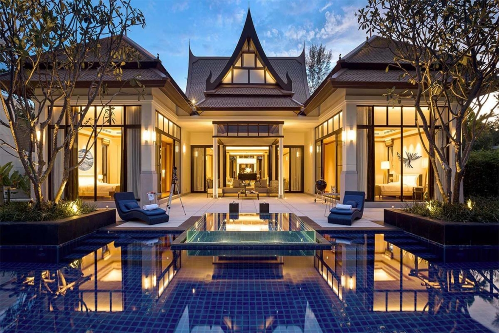 Banyan Tree 3 Bedroom Waterfront Pool Villa for Sale in Laguna Phuket