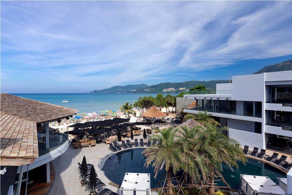The Bay and Beach Club 1 Bedroom Beachfront Apartment for Sale in Patong Beach Phuket