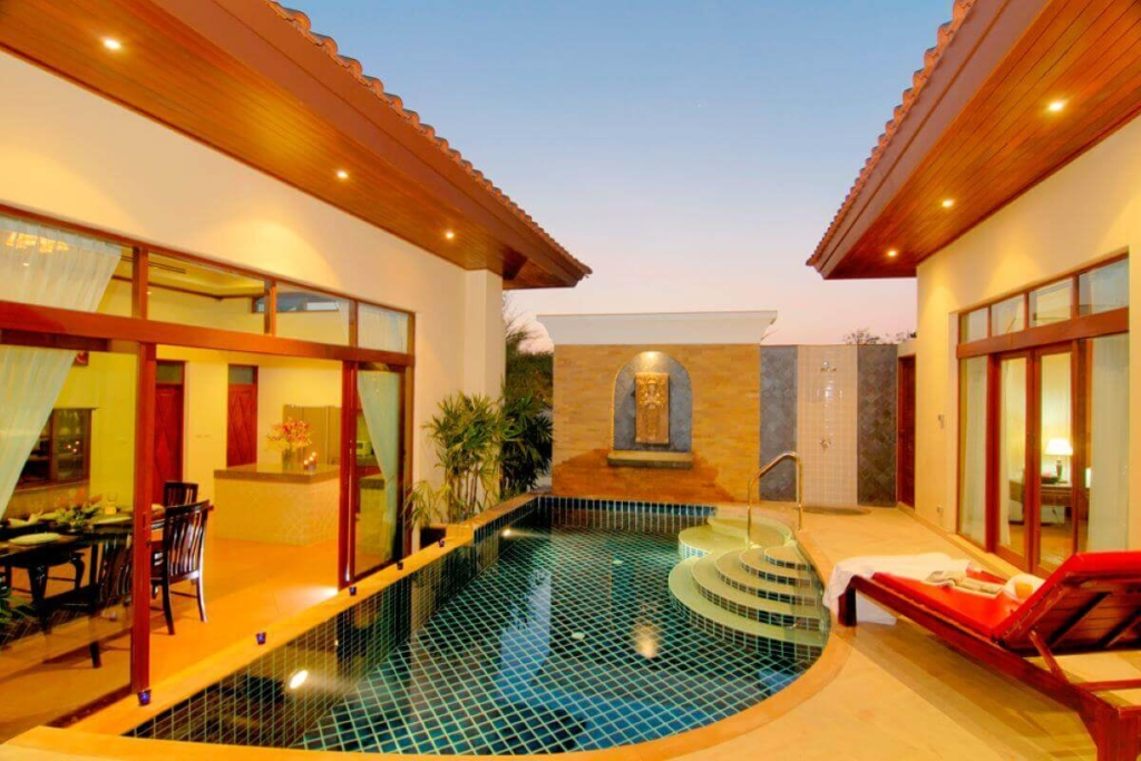 Les Palmares 2 Bedroom Balinese Pool Villa for Sale in Bang Tao Phuket