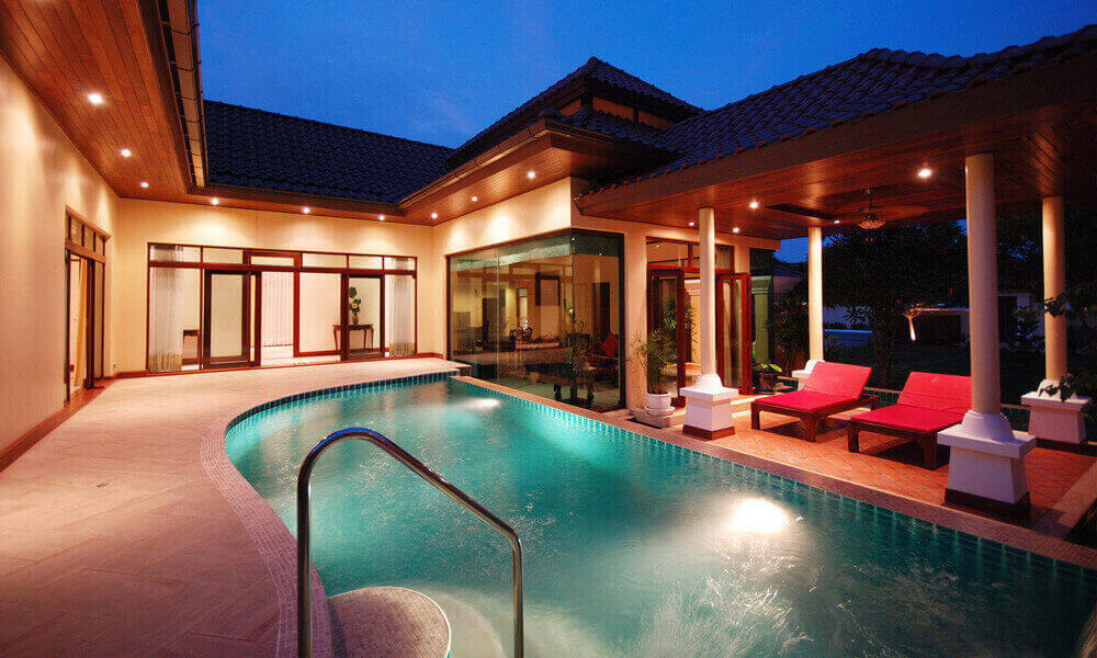 Les Palmares 3 Bedroom Balinese Pool Villa for Sale in Bang Tao Phuket