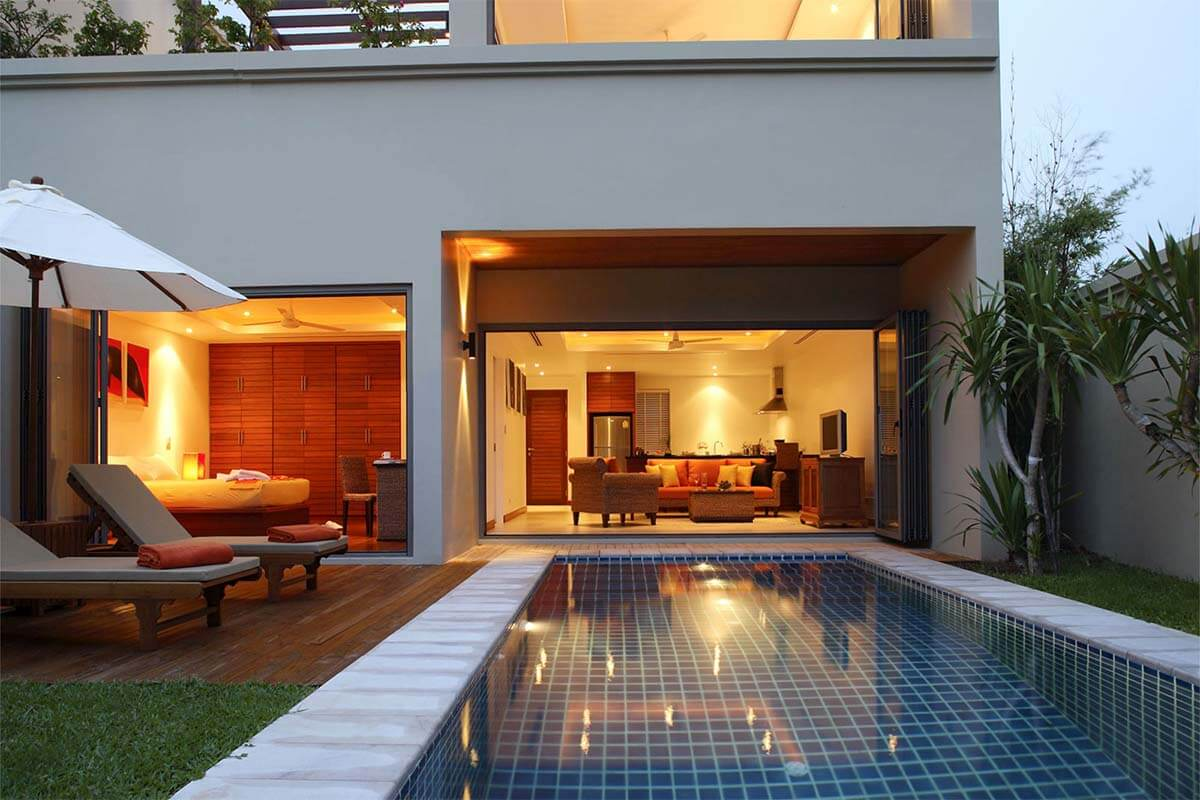 3 Bedroom Duplex Pool Villa for Sale at The Residence near Bang Tao Beach, Phuket