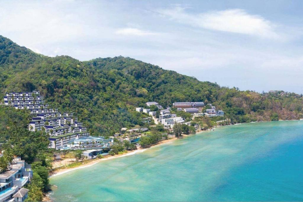 Studio Oceanfront Fully Furnished Condo for Sale near Kamala Beach, Phuket