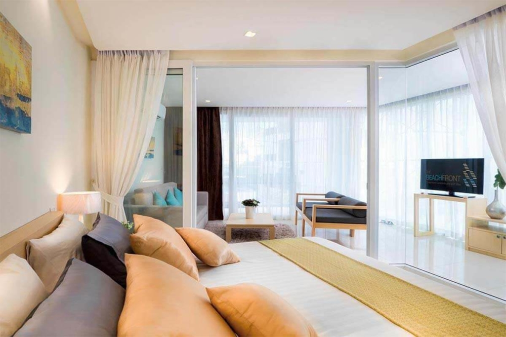 The Beachfront 1 Bedroom Beachfront Condo for Sale in Rawai Phuket