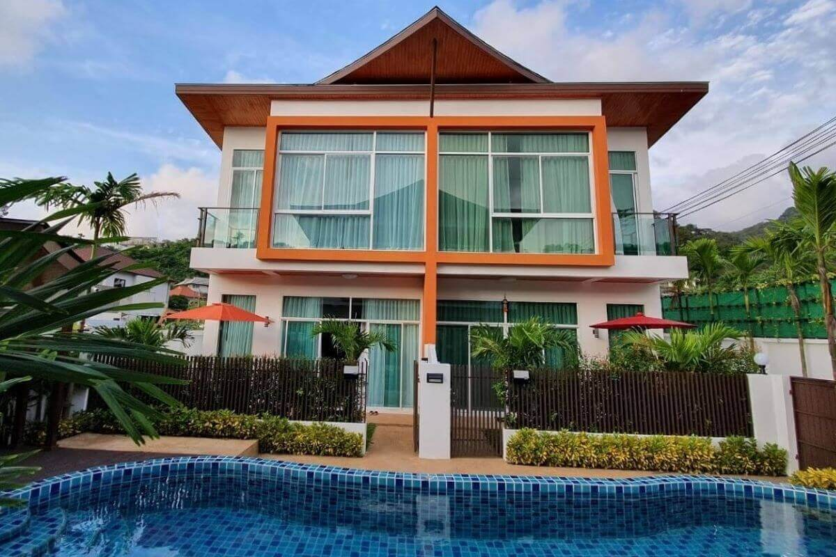 3 Bedroom House w/ Shared Pool for Sale near Kamala Beach, Phuket