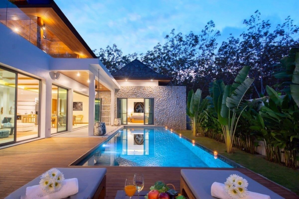 4 Bedroom Fully Furnished Pool Villa for Sale at Phustone in Cherng Talay, Phuket