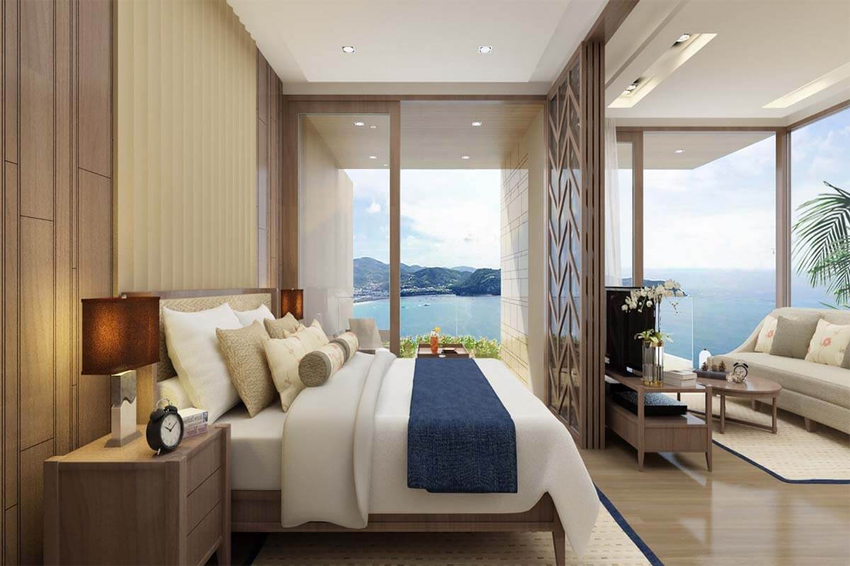 The Oceanfront Residence 1 Bedroom Beachfront Condo for Sale in Kalim Beach Phuket