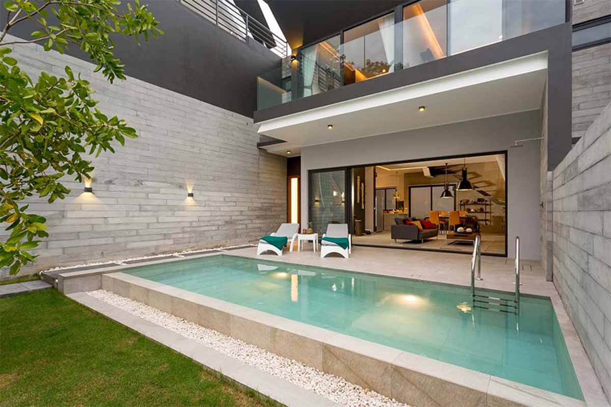 Kimera 3 Bedroom Mountain View Pool Villa for Sale in Chalong Phuket