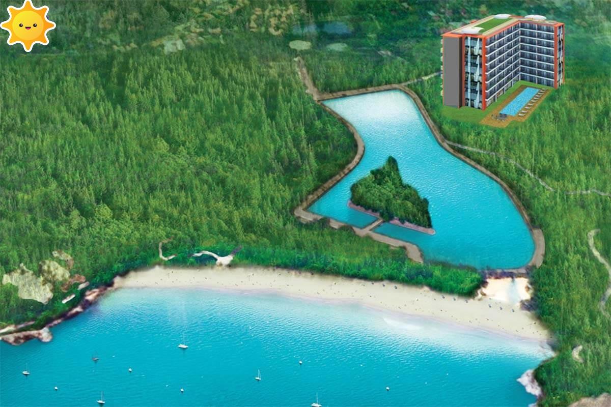 Nai Harn Sea Condominium 1 Bedroom Condo for Sale in Nai Harn Beach Phuket